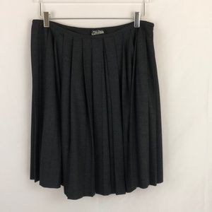 Vtg Jean Paul Gaultier Pleated Skirt Sz 10